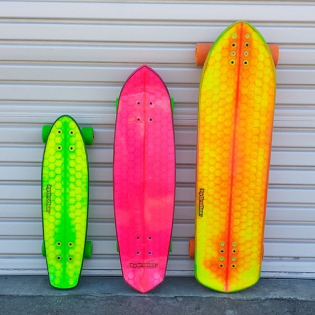 hydroflex-skateboards-line-up-kickstarter