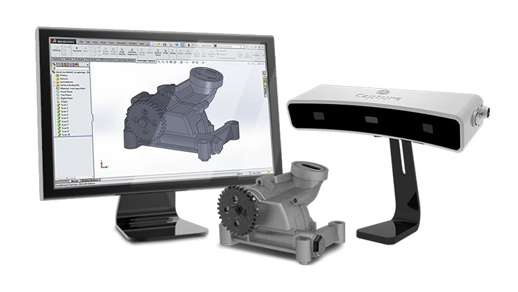 3D Systems Has Packaging Party, Launches Geomagic Capture Scan n