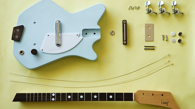 the electric loog guitar don 39 t just wail on your guitar learn how to build it solidsmack. Black Bedroom Furniture Sets. Home Design Ideas