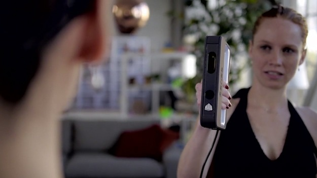 the sense 3d systems launches handheld 3d scanner for 399 to be sold at staples solidsmack. Black Bedroom Furniture Sets. Home Design Ideas