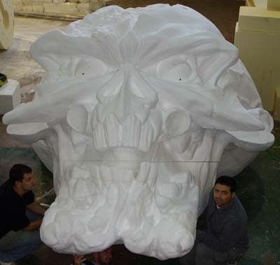 iron-maiden-eddie-head-polystyrene-pattern