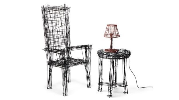 Drawing Furniture Series: Korean Designer Jinil Park's Super-Sketchy Furniture Collection