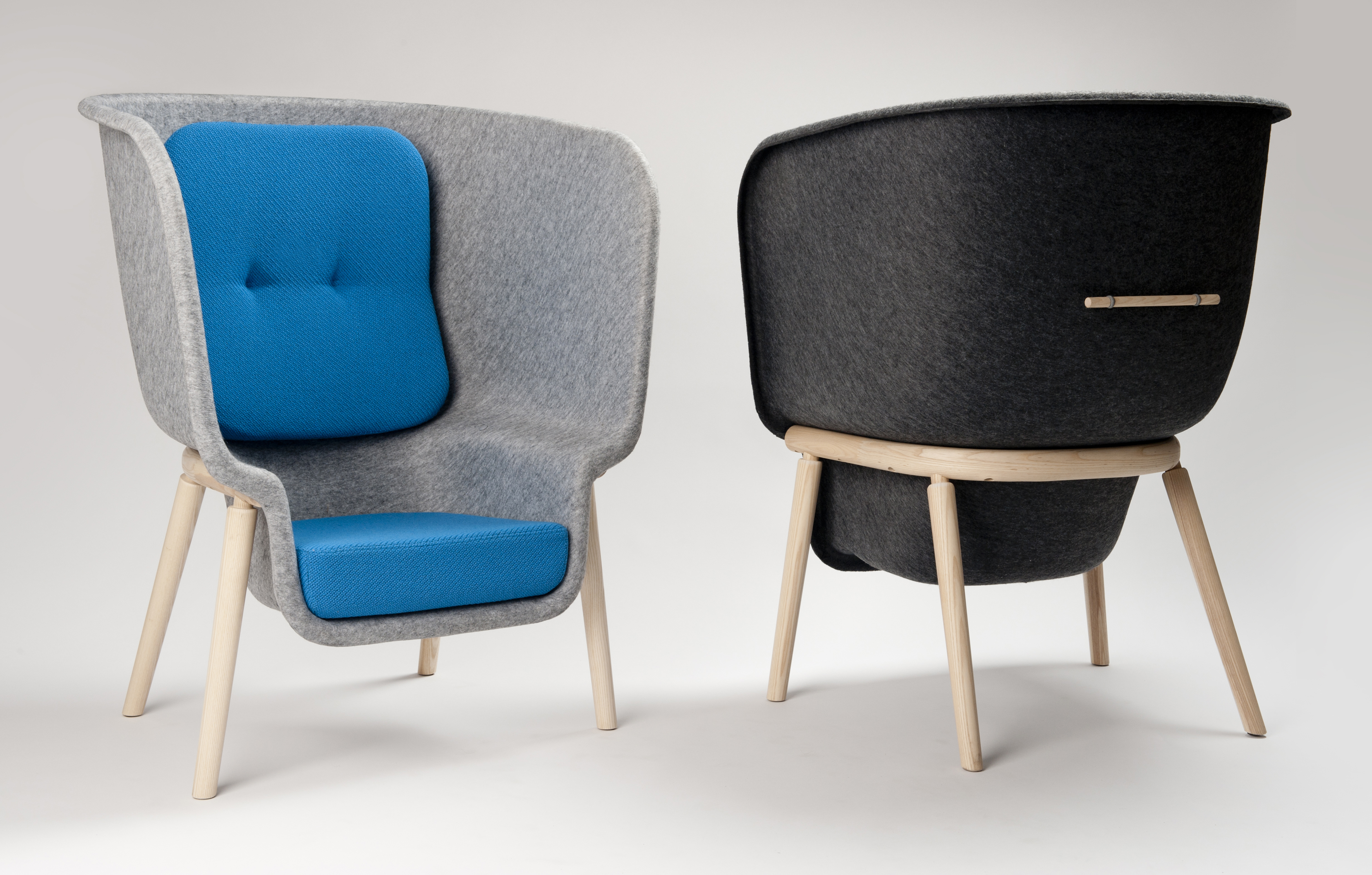 Behind the Design Process The Pod Chair From Benjamin Hubert