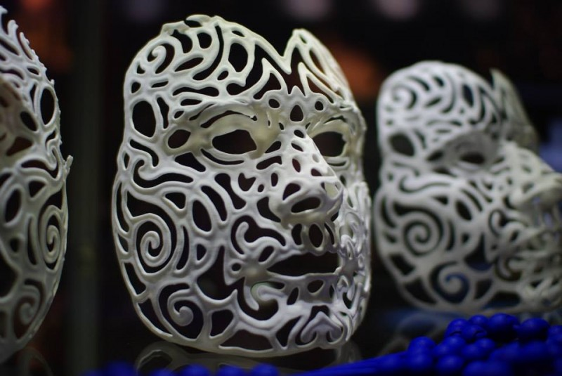 Joshua Harker - Self Portrait Mask