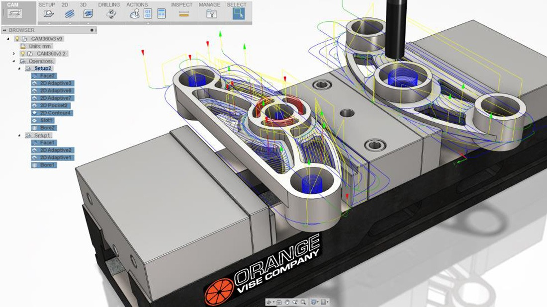 Autodesk brings cloudy cam power to fusion 360 solidsmack for Top product design firms