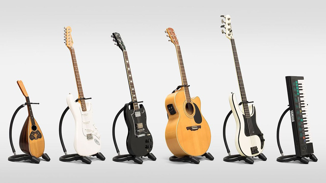 Guitar Stand Designs : Behind the design bnd one flexible and portable