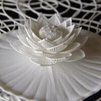 Joshua Harker Deep-Dives Into New 3D Printing Territory With 'Mazzo di Fiori'