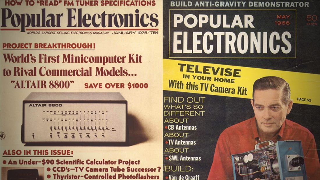 Read the Entire Collection of Popular Electronics Magazine (1954