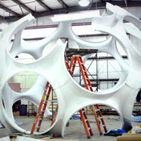 Buckminster Fuller's Fly's Eye Dome Comes to Life in Miami