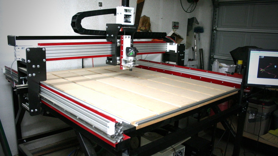 Behind the design i built a cnc router at home for Home router architecture