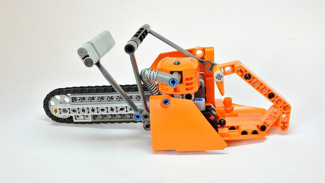 AmazeTorment Your Friends Build This Mini LEGO Chainsaw  : frantisek hajdekr lego chainsaw 02 1100x619 from www.solidsmack.com size 1100 x 619 jpeg 110kB