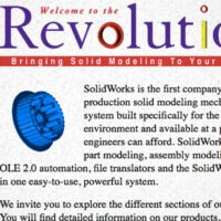 Take a Step Back in Time and Experience the Original SolidWorks Site from 1996