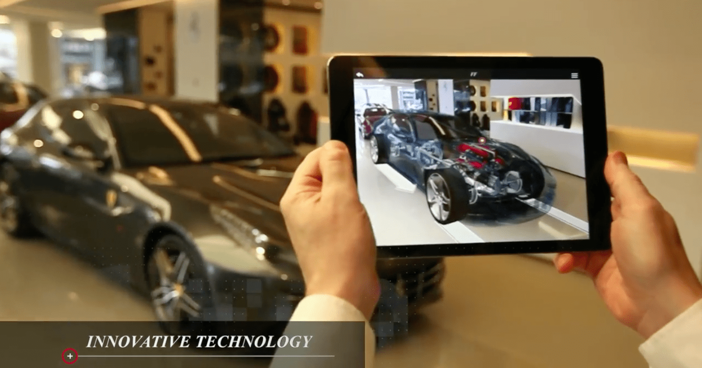 Ferrari S New Augmented Reality App Offers Real Time