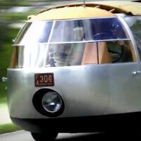 Buckminster Fuller's Three-Wheeled 1933 Dymaxion Car Hits the Road in 2015
