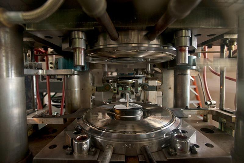 vinyl record pressing machine