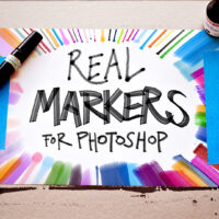 The 'Real Markers for Photoshop' Brush Set Emulates All of Your  Alcohol-Based Markers