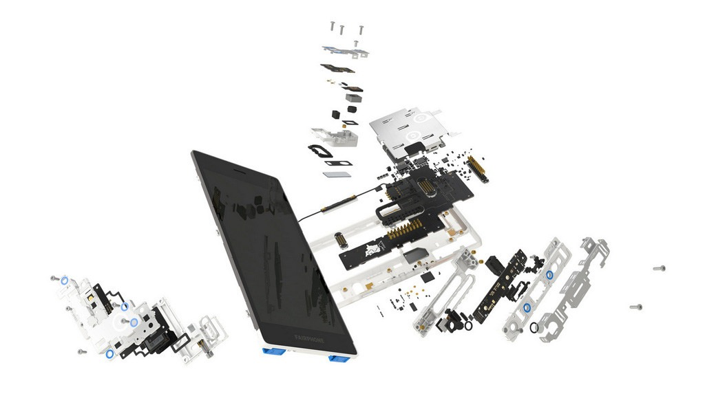 According to Fairphone, a broken screen takes no more than 30-seconds to replace. That's impressive!