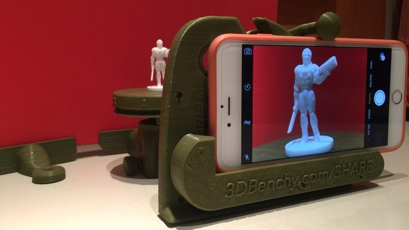 #3DBenchy Phot Studio print by Jeremy Larsen.