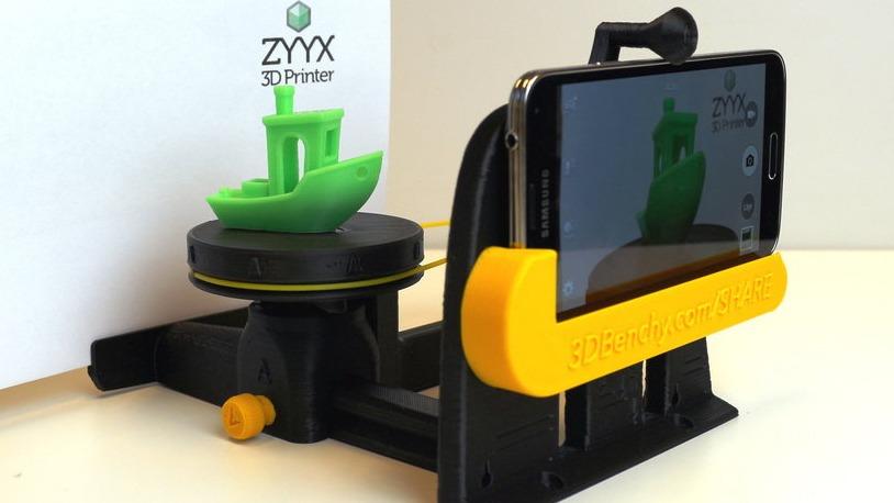 #3DBenchy Photo Studio print by ZYYX3DPrinter.