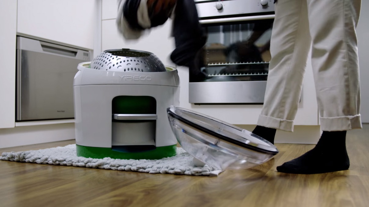 Drumi Is The Foot Powered Washing Machine For Less Waste