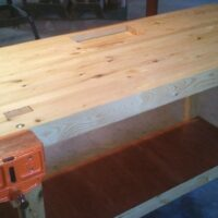Build A 100% 2×4 Workbench With This Simple Instructable
