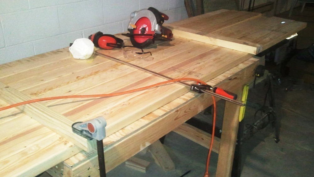 Build A 100 2x4 Workbench With This Simple Instructable  : 2x4 workbench plan 01 from www.solidsmack.com size 1000 x 563 jpeg 354kB