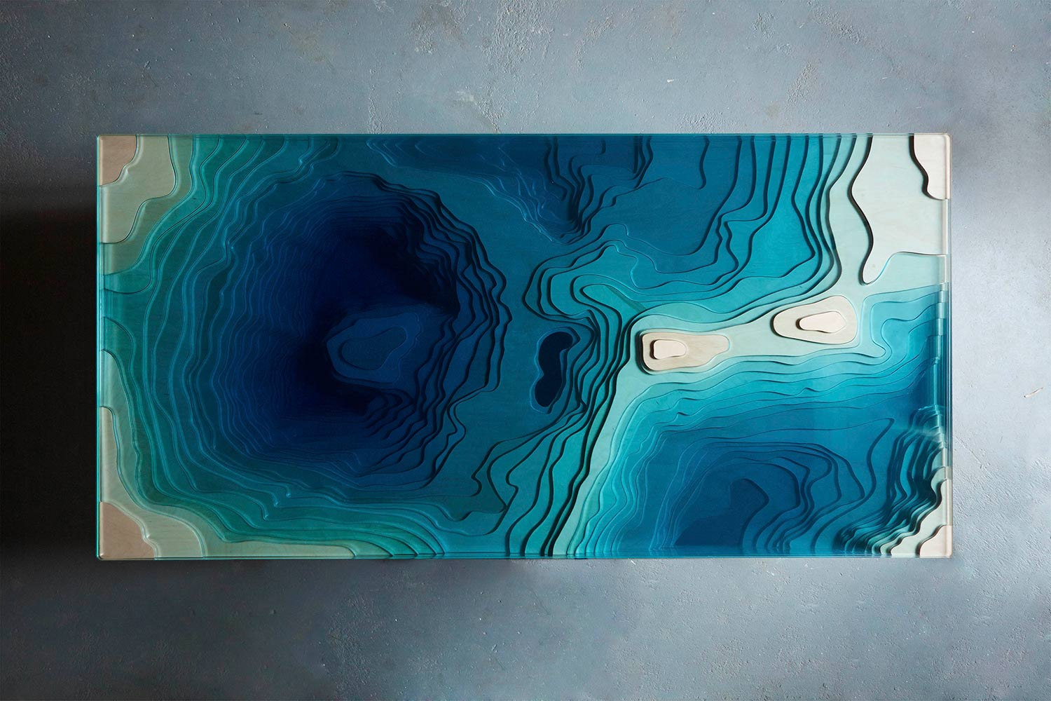This Coffee Table Design Puts An Ocean Abyss In Your Home