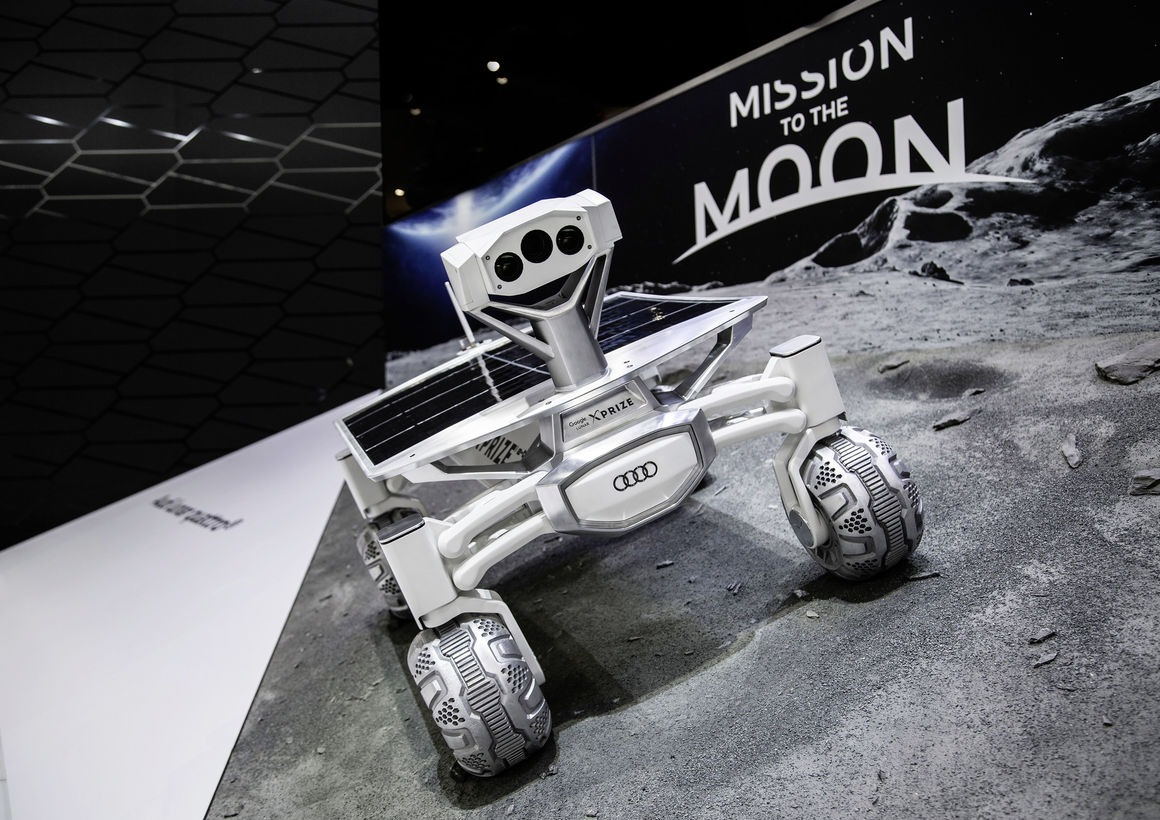 it 39 s not an r8 but the audi moon rover looks so good in. Black Bedroom Furniture Sets. Home Design Ideas