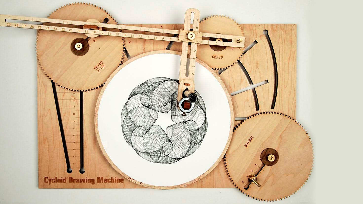 Stupendous Eat Your Heart Out Spirograph Clycloid Drawing Machine Is Download Free Architecture Designs Rallybritishbridgeorg