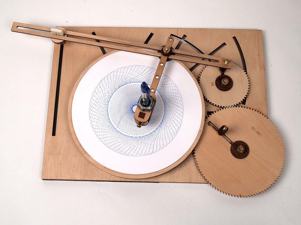 Strange Eat Your Heart Out Spirograph Clycloid Drawing Machine Is Download Free Architecture Designs Rallybritishbridgeorg