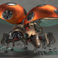 Model of the Week: Steampunk Ladybug [Super Detailed!]