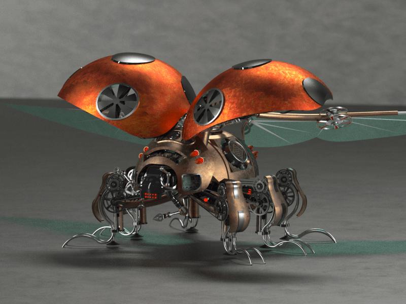 Steam punk lady bug_v2