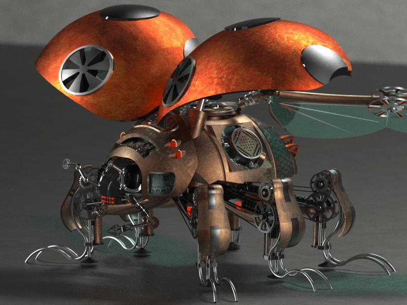 Steam punk lady bug_v4