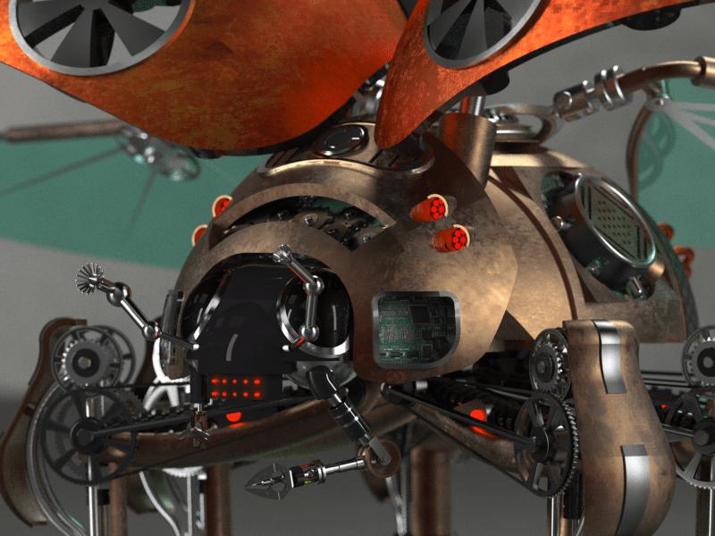 Steam punk lady bug_v5