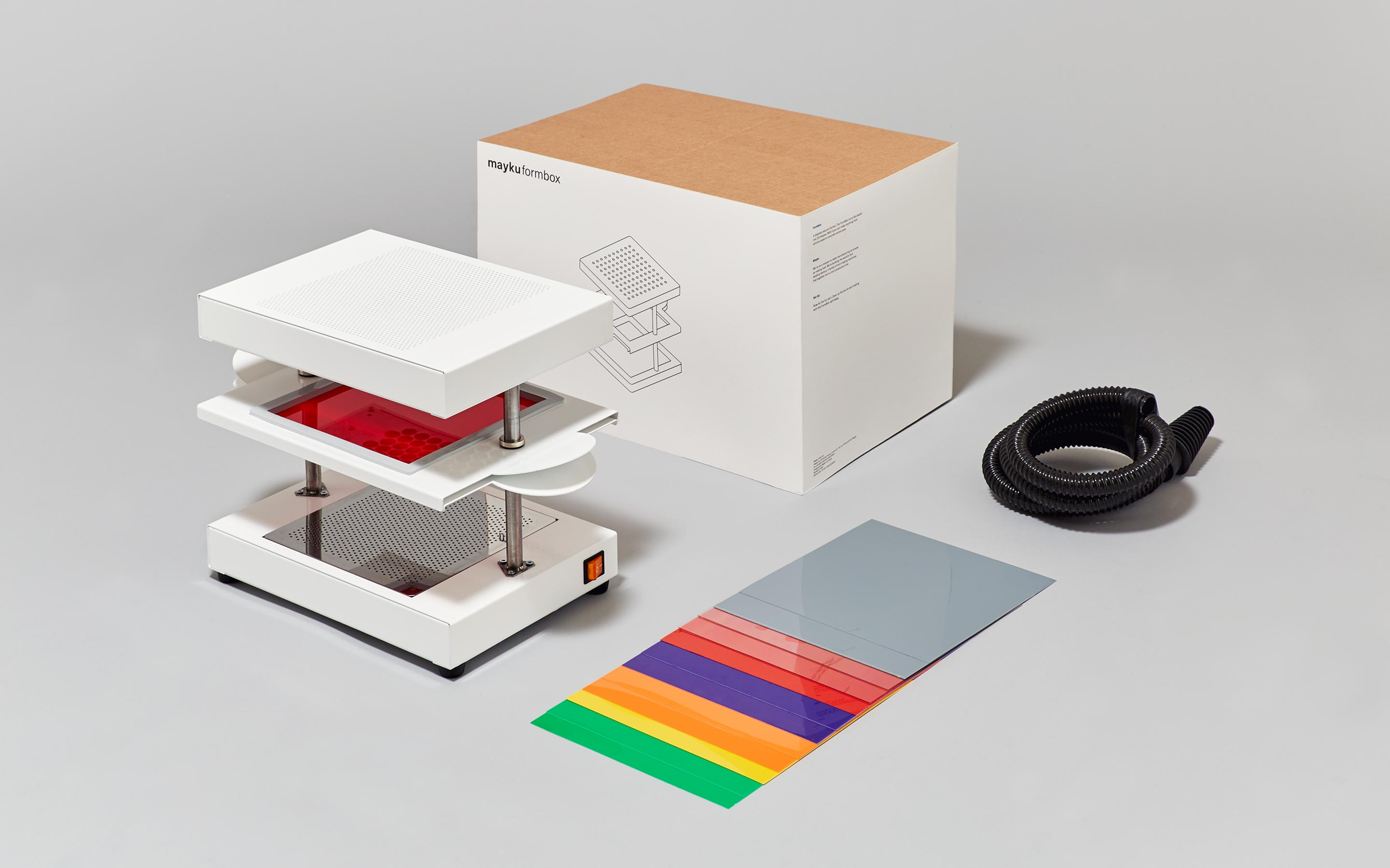 Design Your Own Kit Home Online The 349 Formbox Brings All In One Vacuum Forming To Your