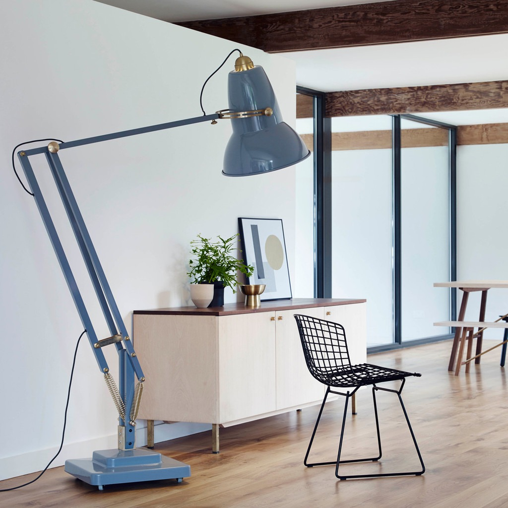 Anglepoise Scales Up Their Iconic Original 1227 Task Lamp For New Light Collection Solidsmack