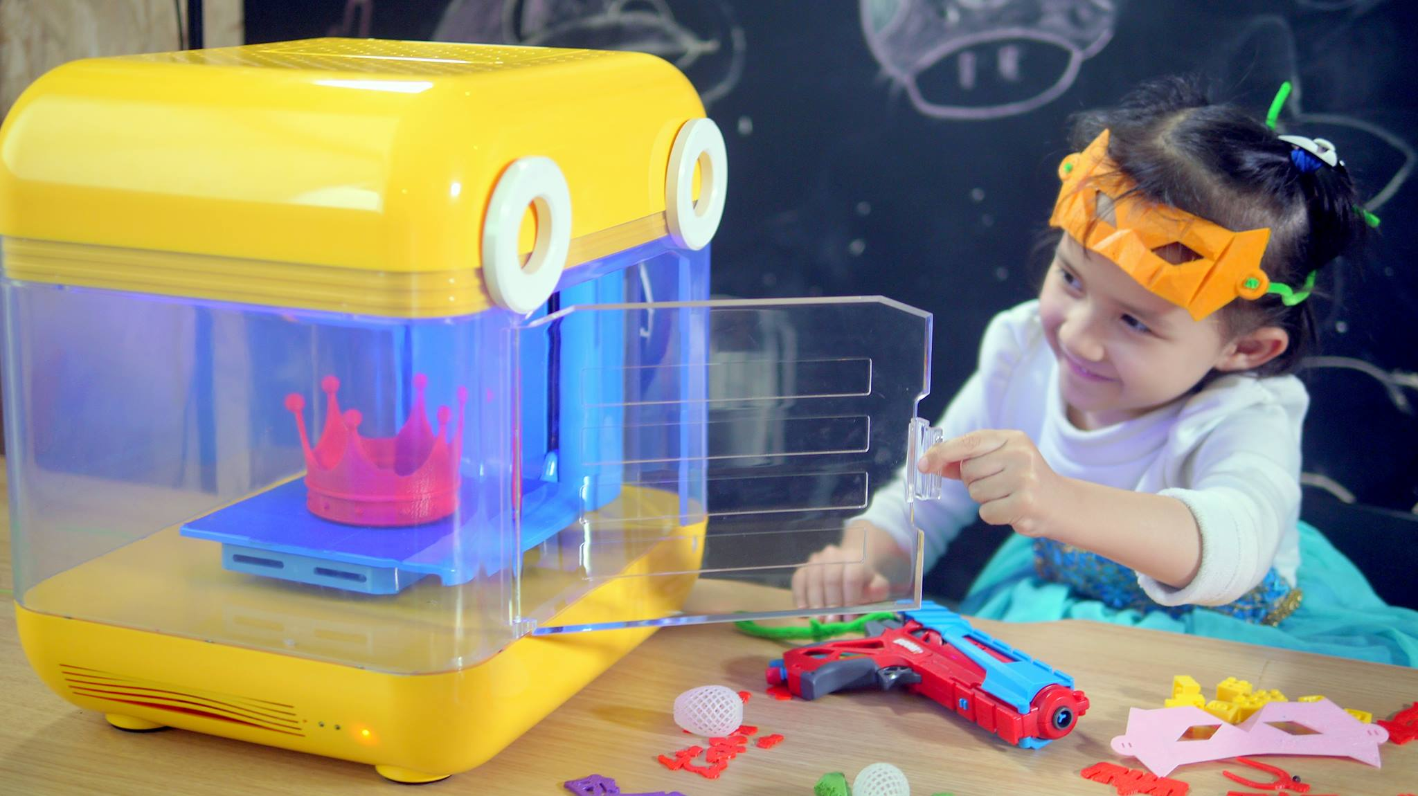 MiniToy 3D Printer is the Kid-friendly Making Machine For ...