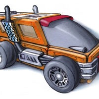 Adventure Toy Rendering Series – Part THREE: Vehicles