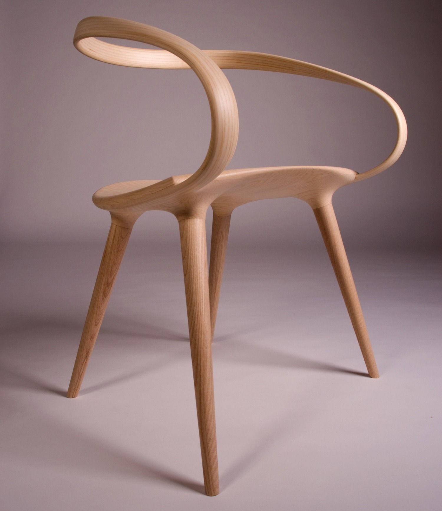 This insane bent plywood chair is inspired by modern for Chair back design names