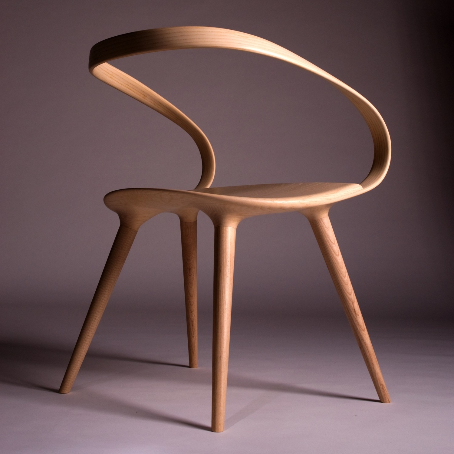 Designer Chair: This Insane Bent Plywood Chair Is Inspired By Modern