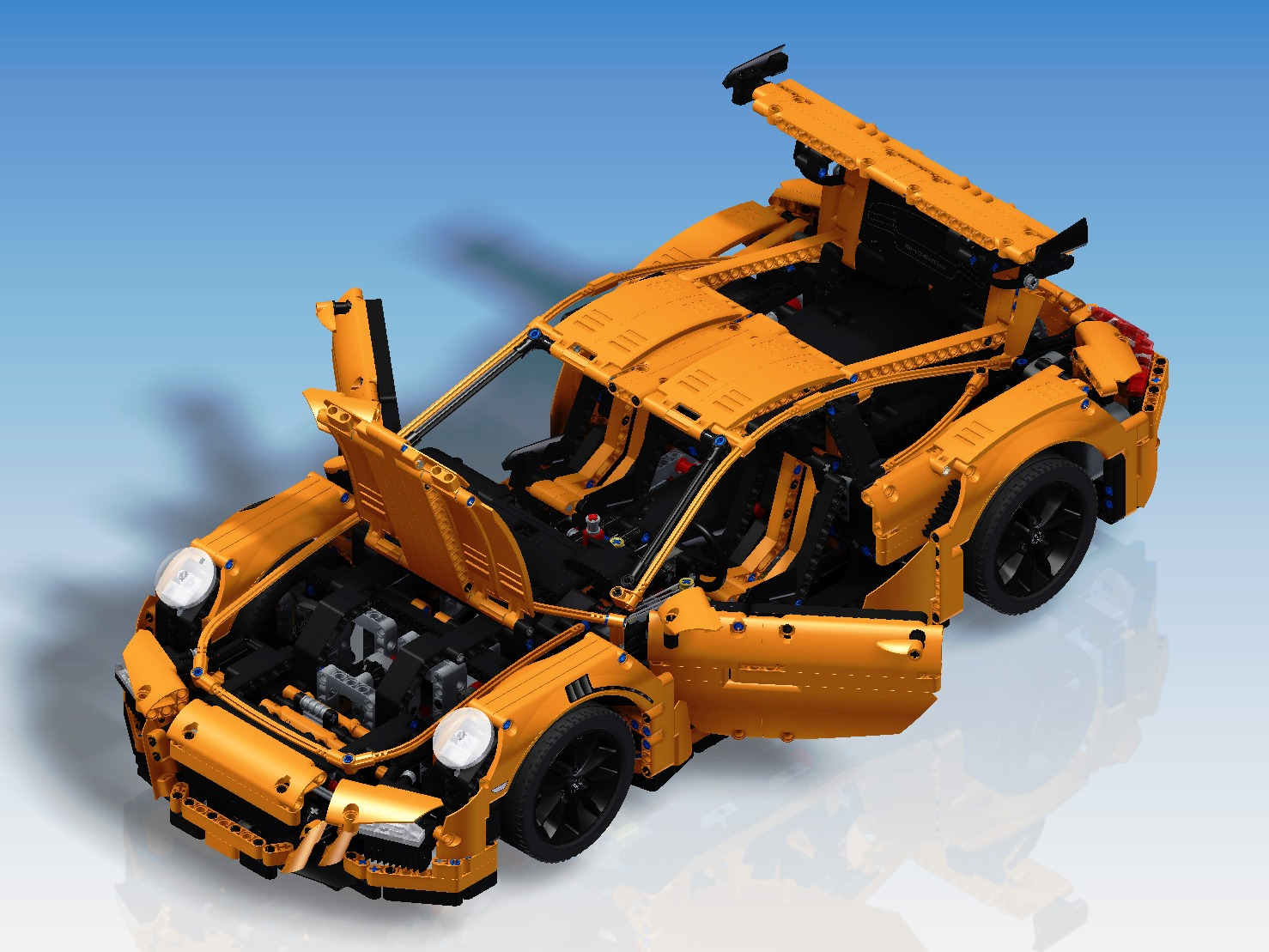 model of the week lego technic porsche 911 dream car. Black Bedroom Furniture Sets. Home Design Ideas
