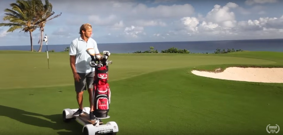 Golf Caddy Design 2 0: Ditch the Human, Use the GolfBoard