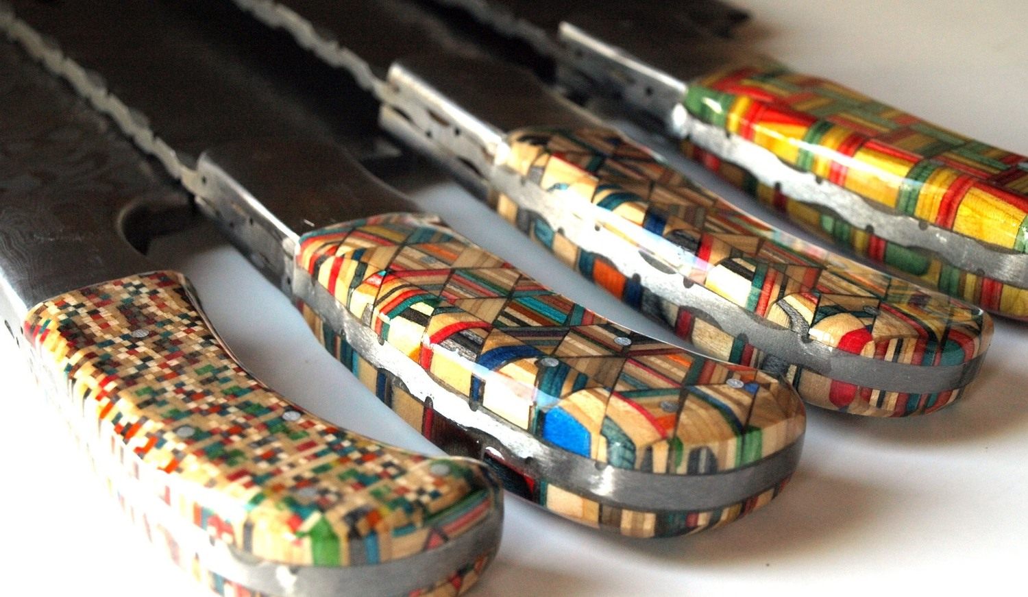 Incredible 'Skate Art' Chopping Knives Made From Recycled ...