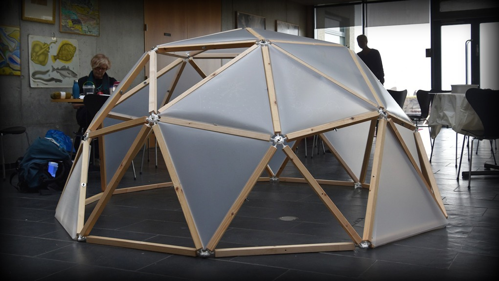 Weekend Project Hubs Geodesic Dome Kits Now Ready To Buy