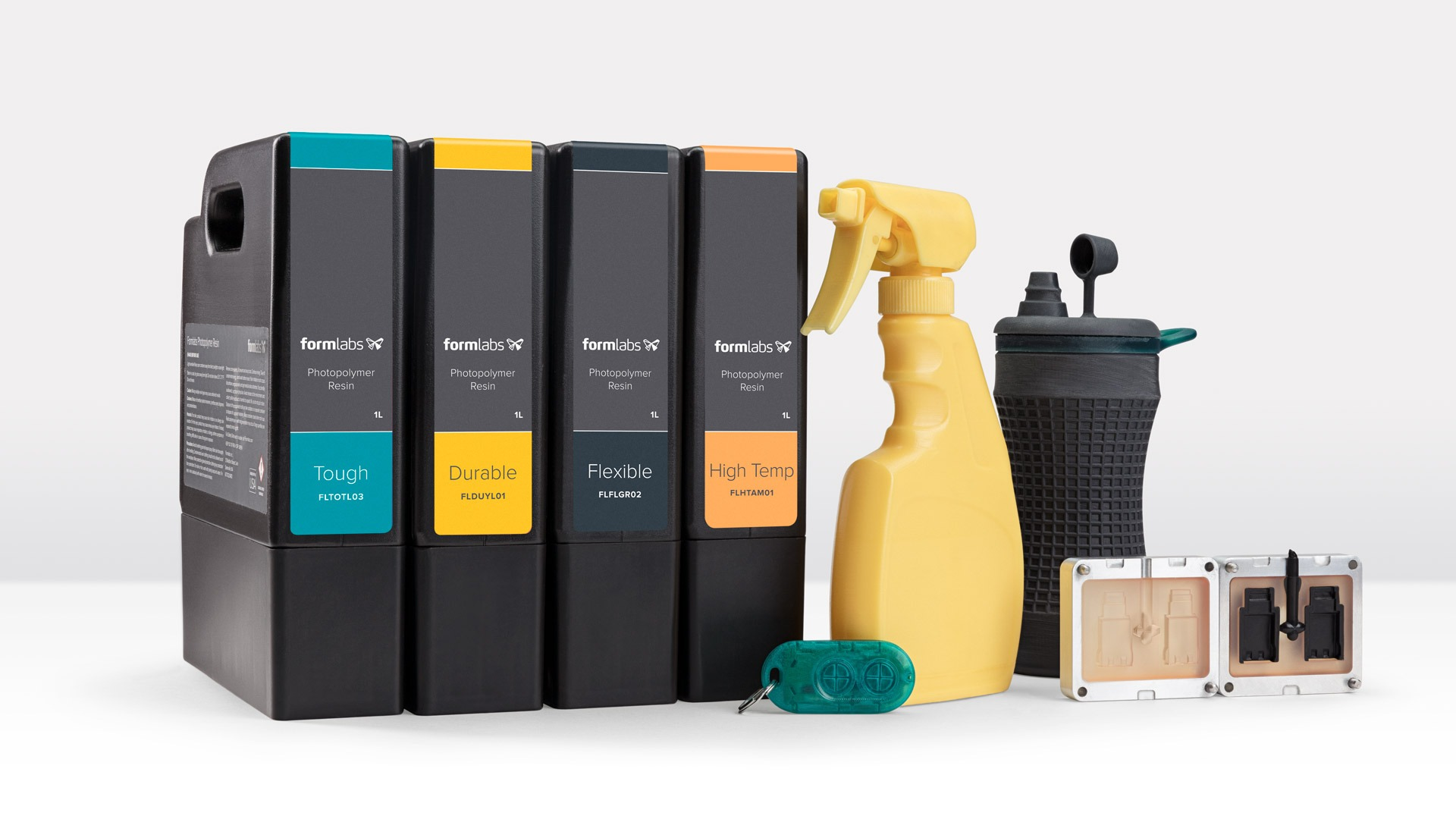 New Formlabs Engineering Resins Fistbump Manufacturing in