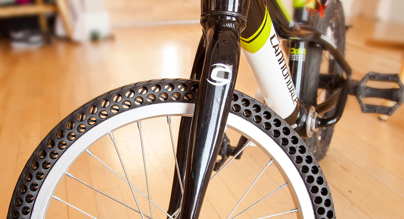 Two Puncture-Proof Bicycle Tire Designs Set to Change the ...