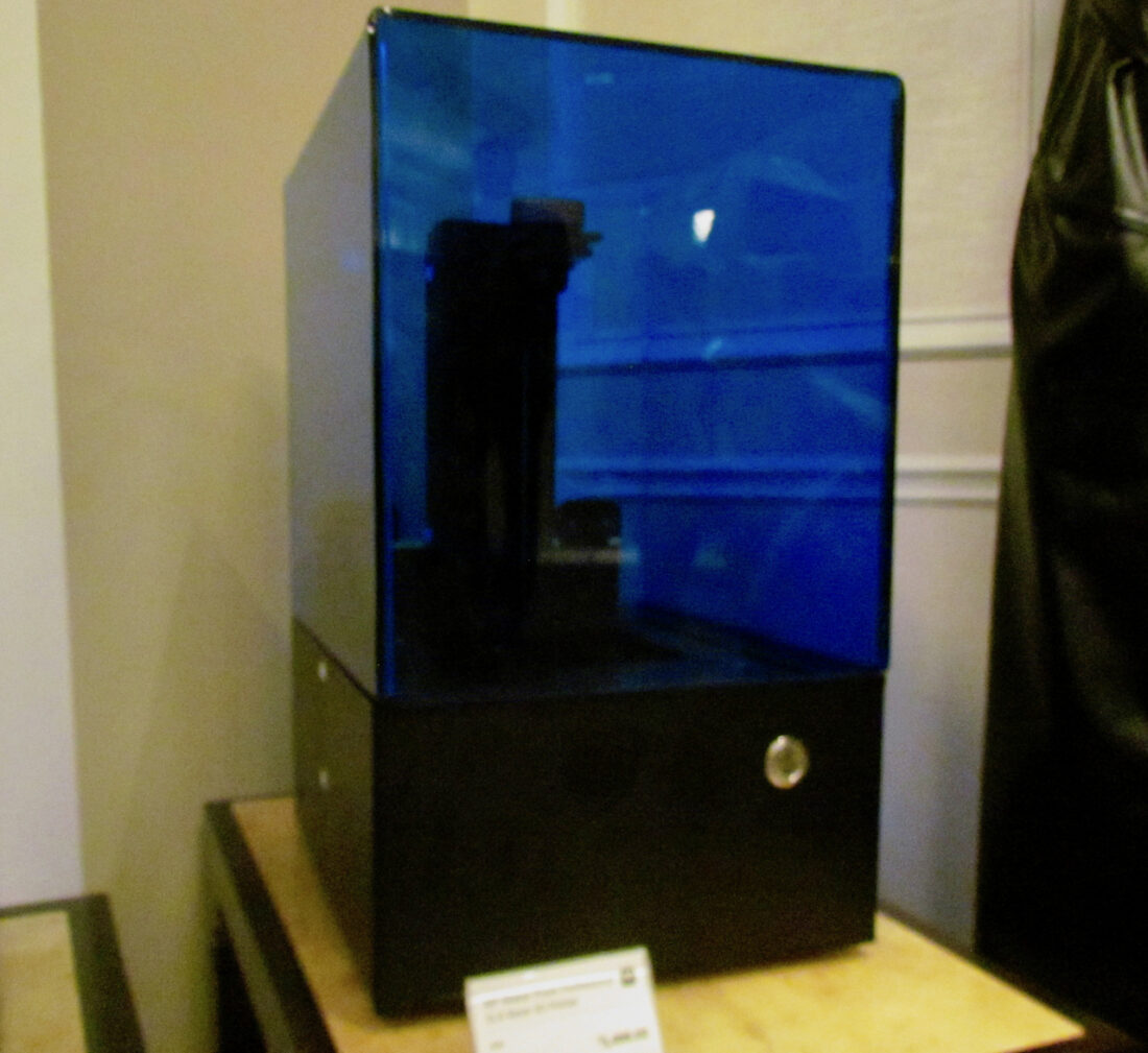 The new Monoprice Prism Professional resin-based desktop 3D printer