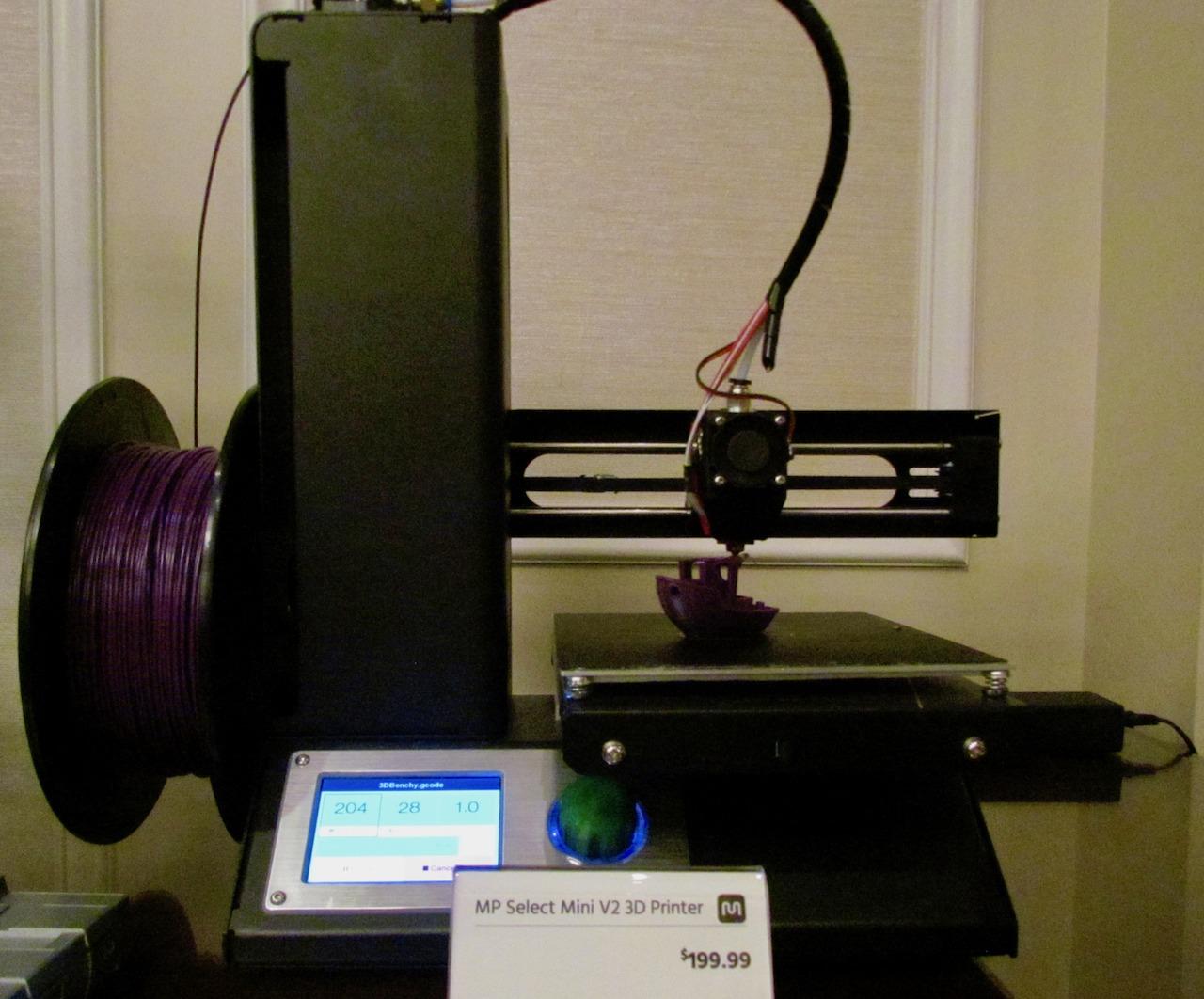 Monoprice Launching 149 Delta Mini Desktop 3d Printer And More