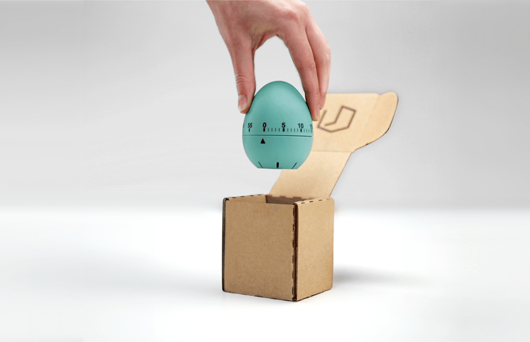 Slimbox cardboard box example