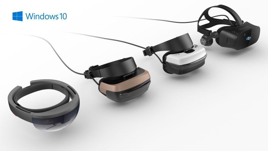 Microsoft has collaborated with several top tech companies to bring about MR headsets to take advantage of the Windows 10 Creator Edition.